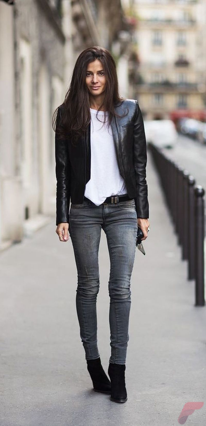 Black Leather Jacket Outfit 18 Fashion Best