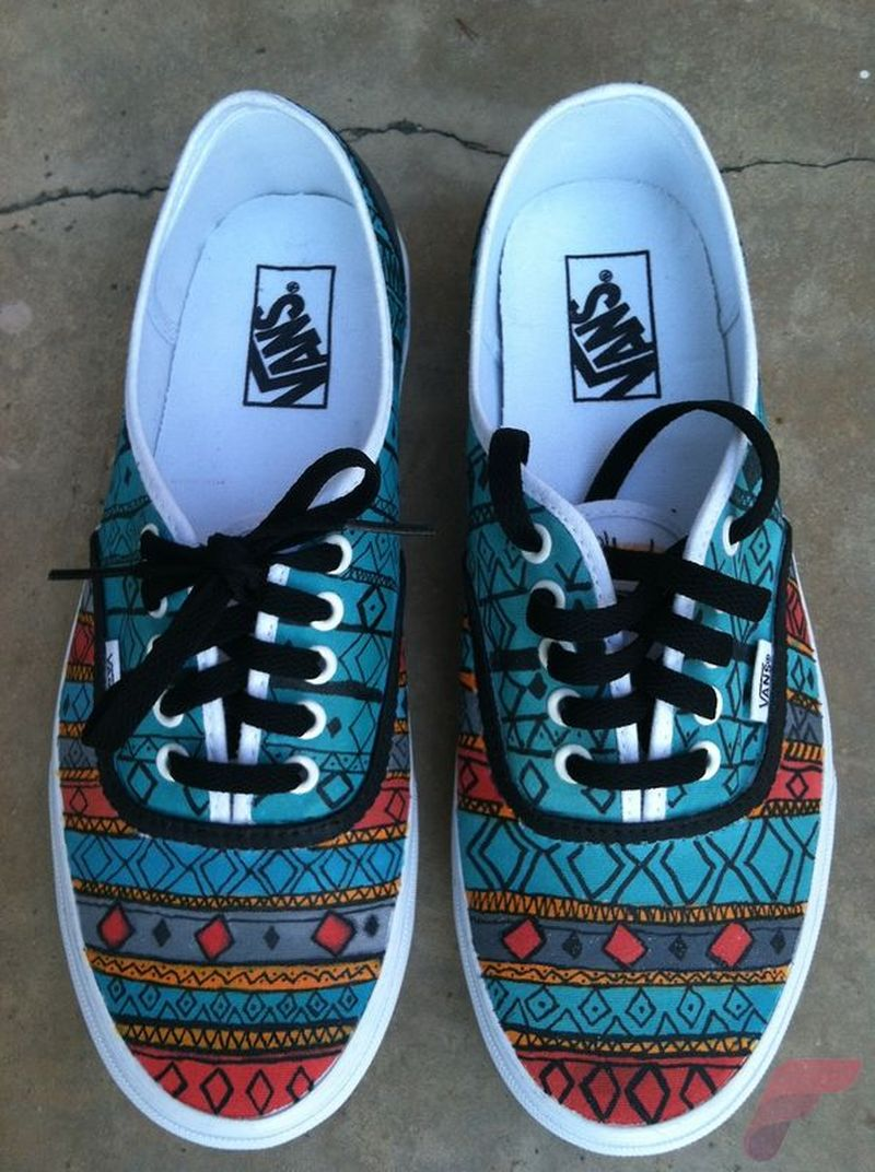 Custom Painted Vans Shoes 26 Fashion Best