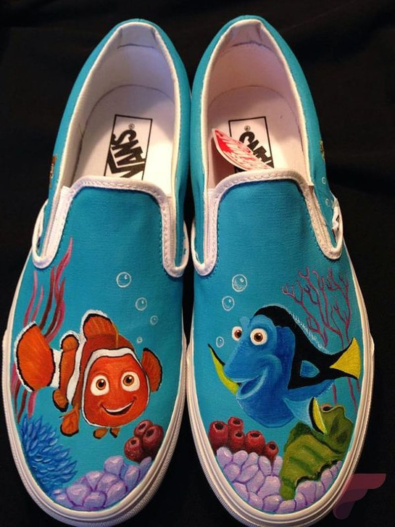 Custom Painted Vans Shoes 75 Fashion Best
