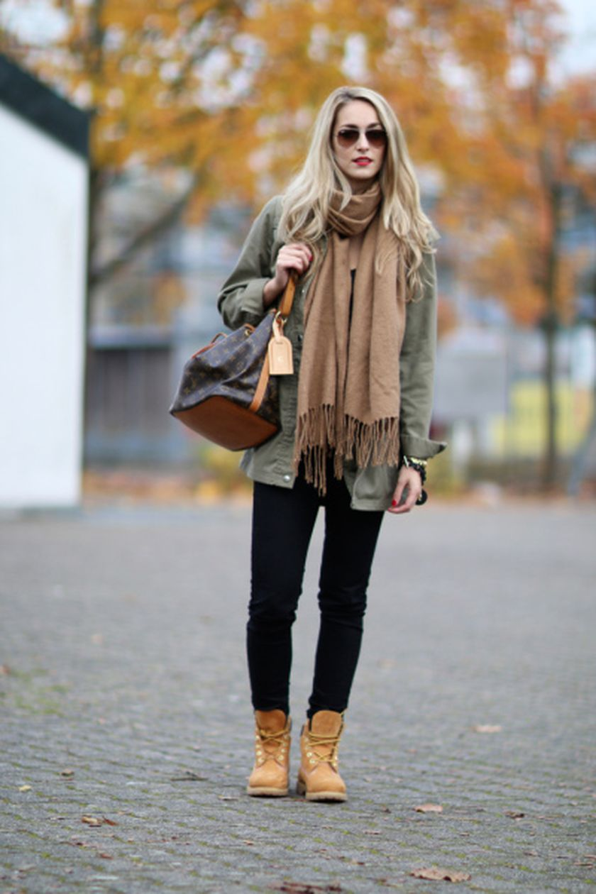 Ideas How To Wear Timberland Boots For Girl 54 - Fashion Best