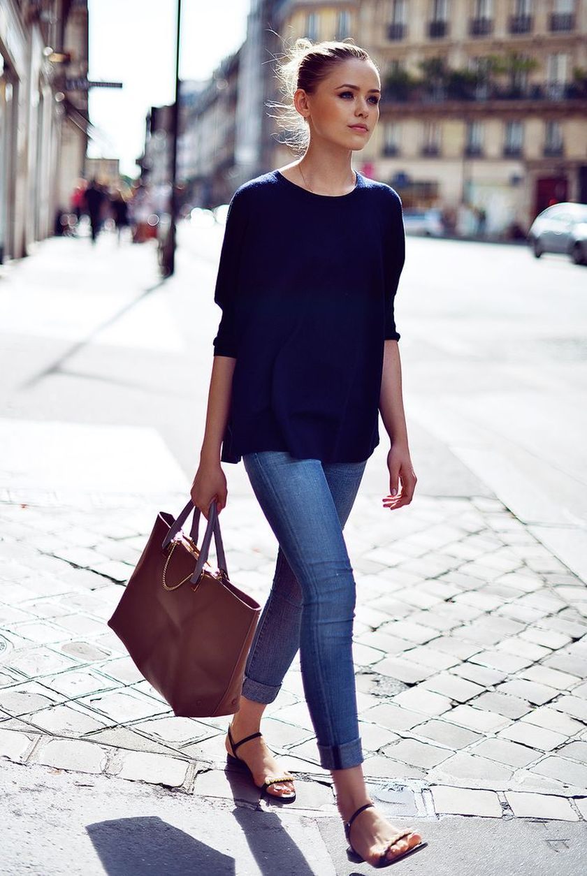 simple casual french style outfits 15  fashion best