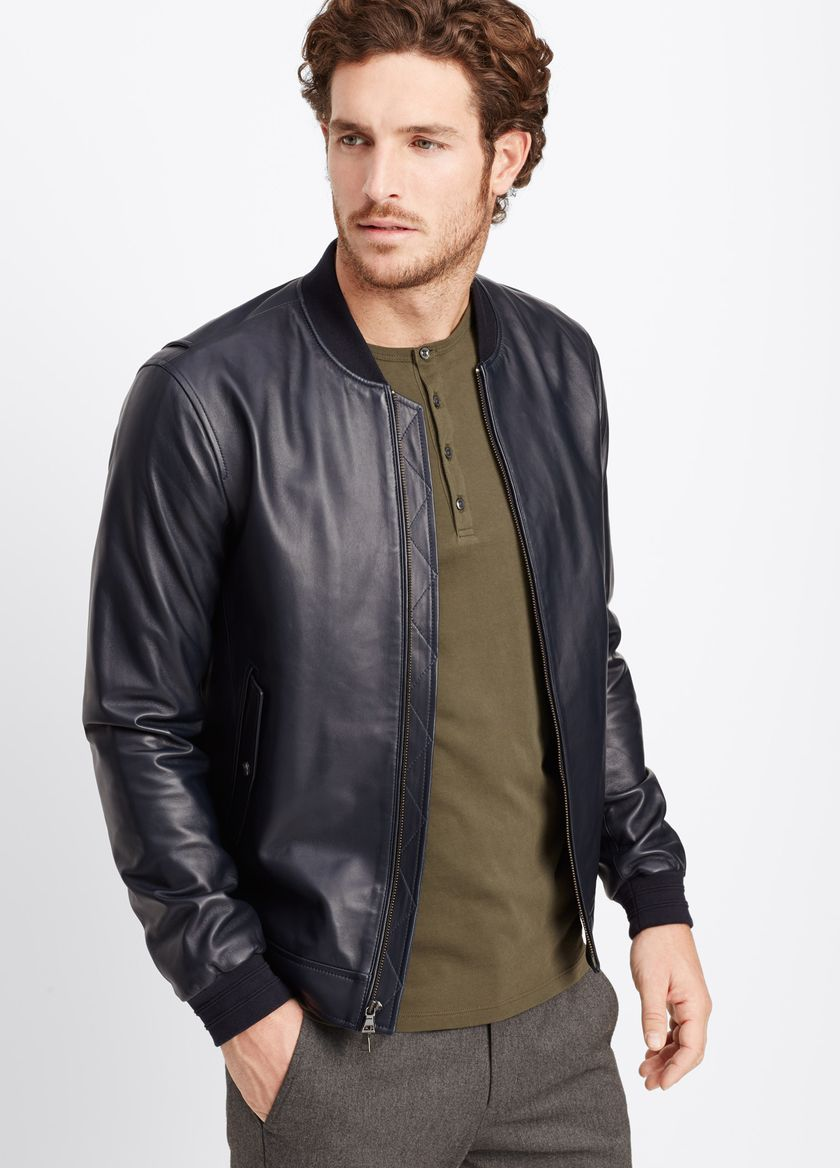 Are leather jackets in fashion for men 4