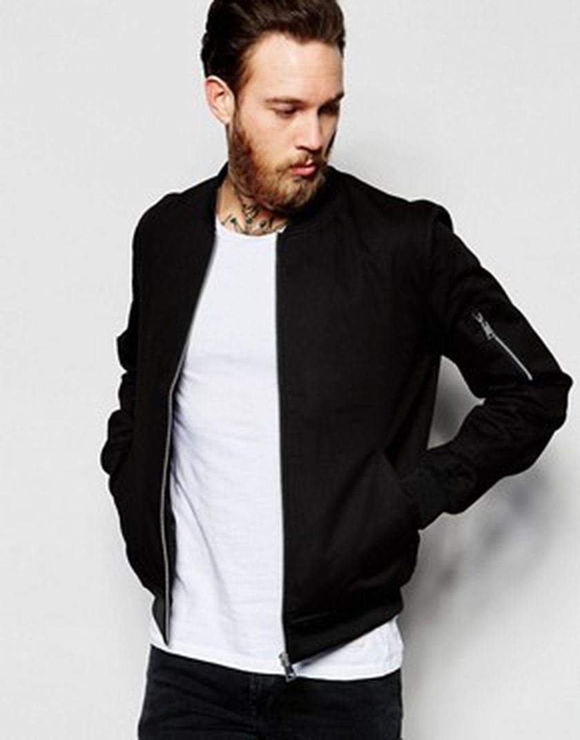 Top Best Model Men Bomber Jacket Outfit 94 - Fashion Best