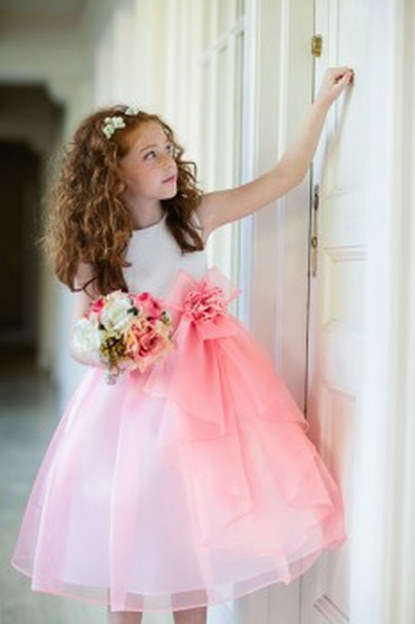 Cute bridesmaid dresses for little girls ideas 73 - Fashion Best