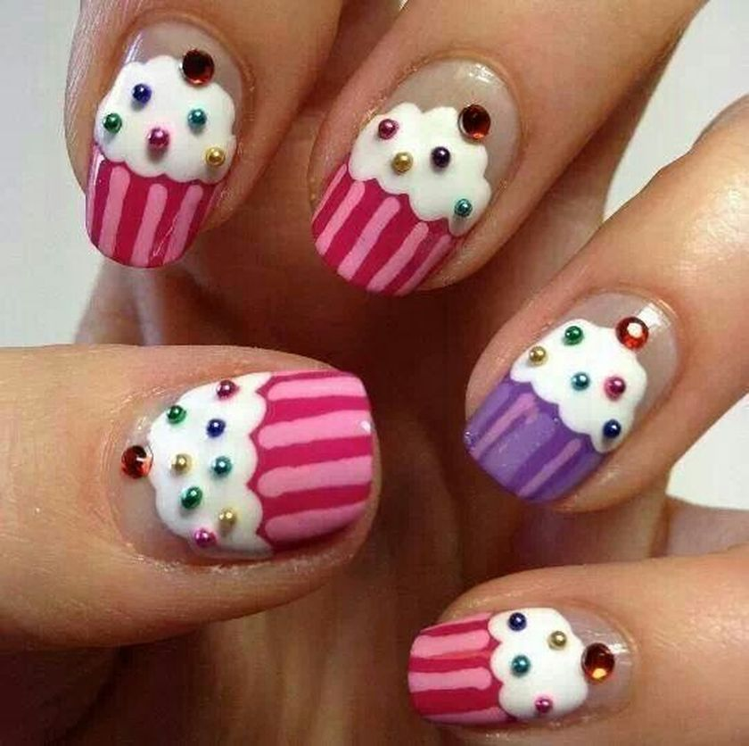 Cute nail art for kids girl # - Cute Nail Art For Kids Girl # - Fashion Best