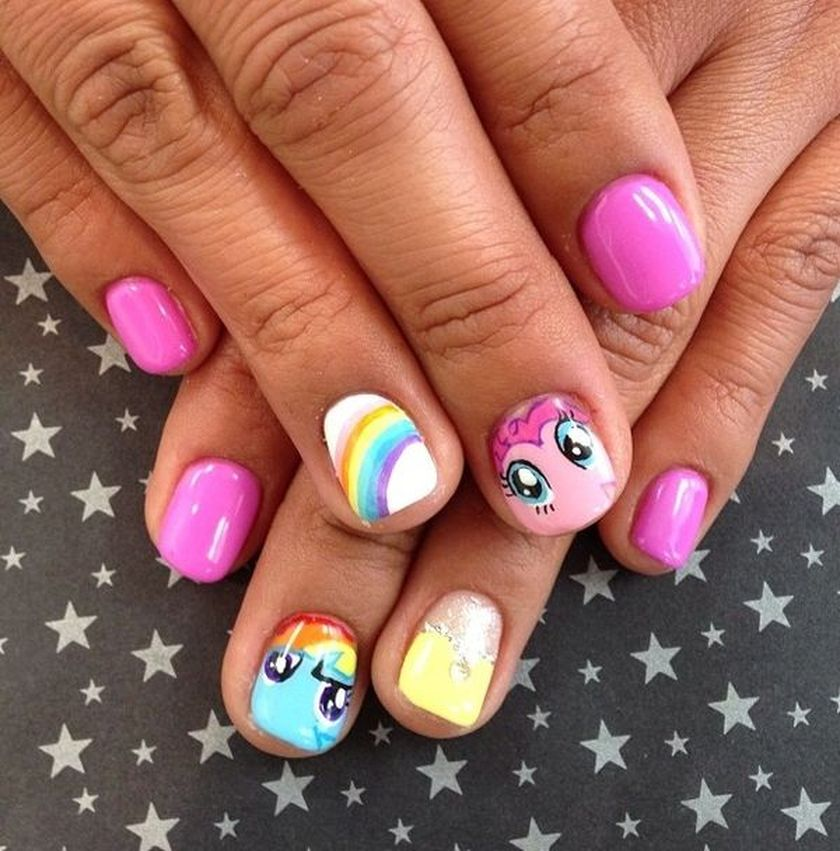 Adorable Nail Art: Cute Nail Art For Kids Girl #