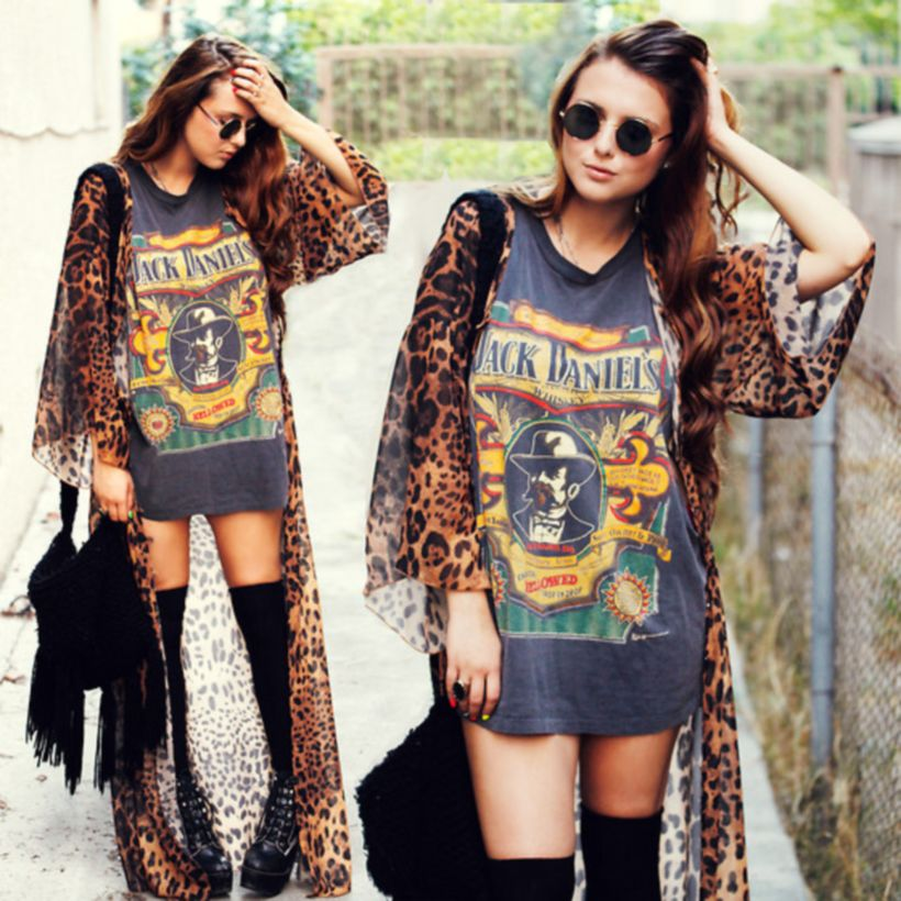 Cute oversized t shirt outfit styles 39 , Fashion Best