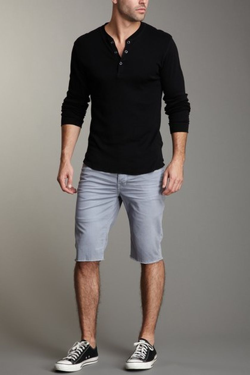 mens summer casual short outfits worth to copy 10