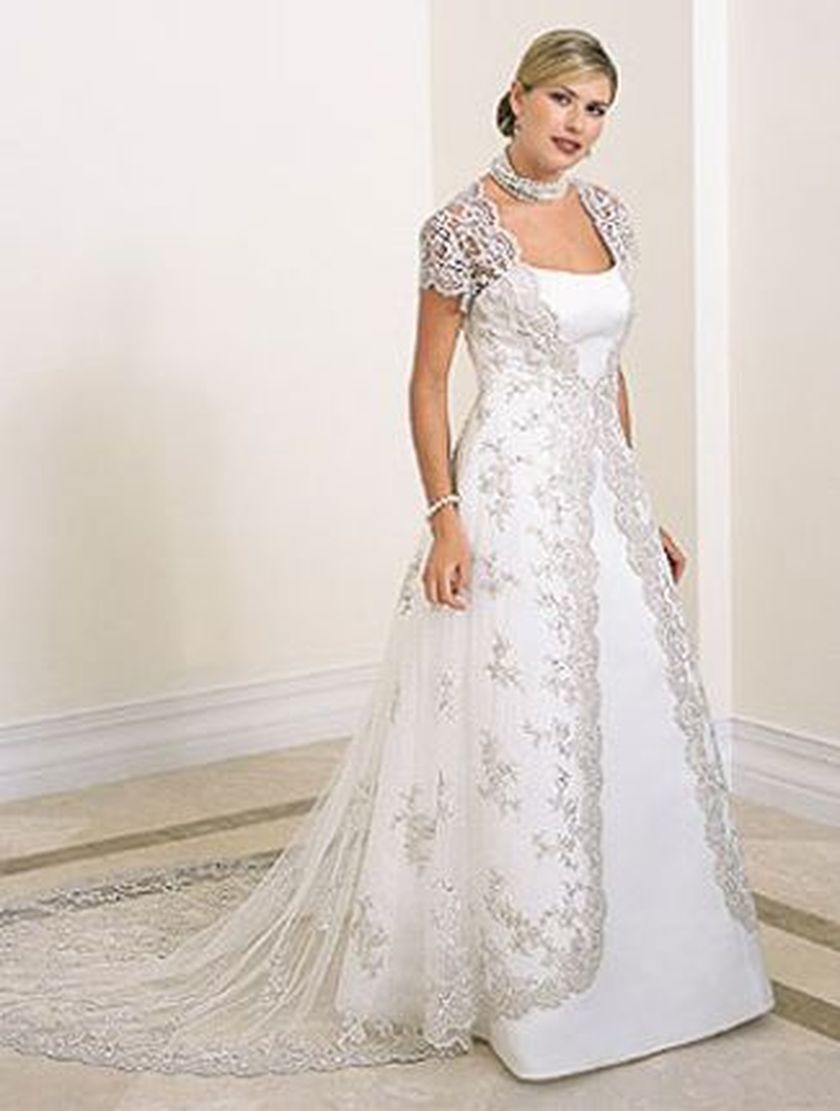 Plus size wedding dresses with sleeves 26 - Fashion Best