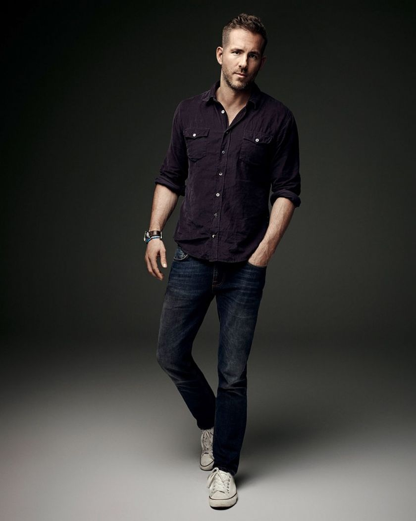Ryan Reynolds Casual Outfit Style 45 Fashion Best