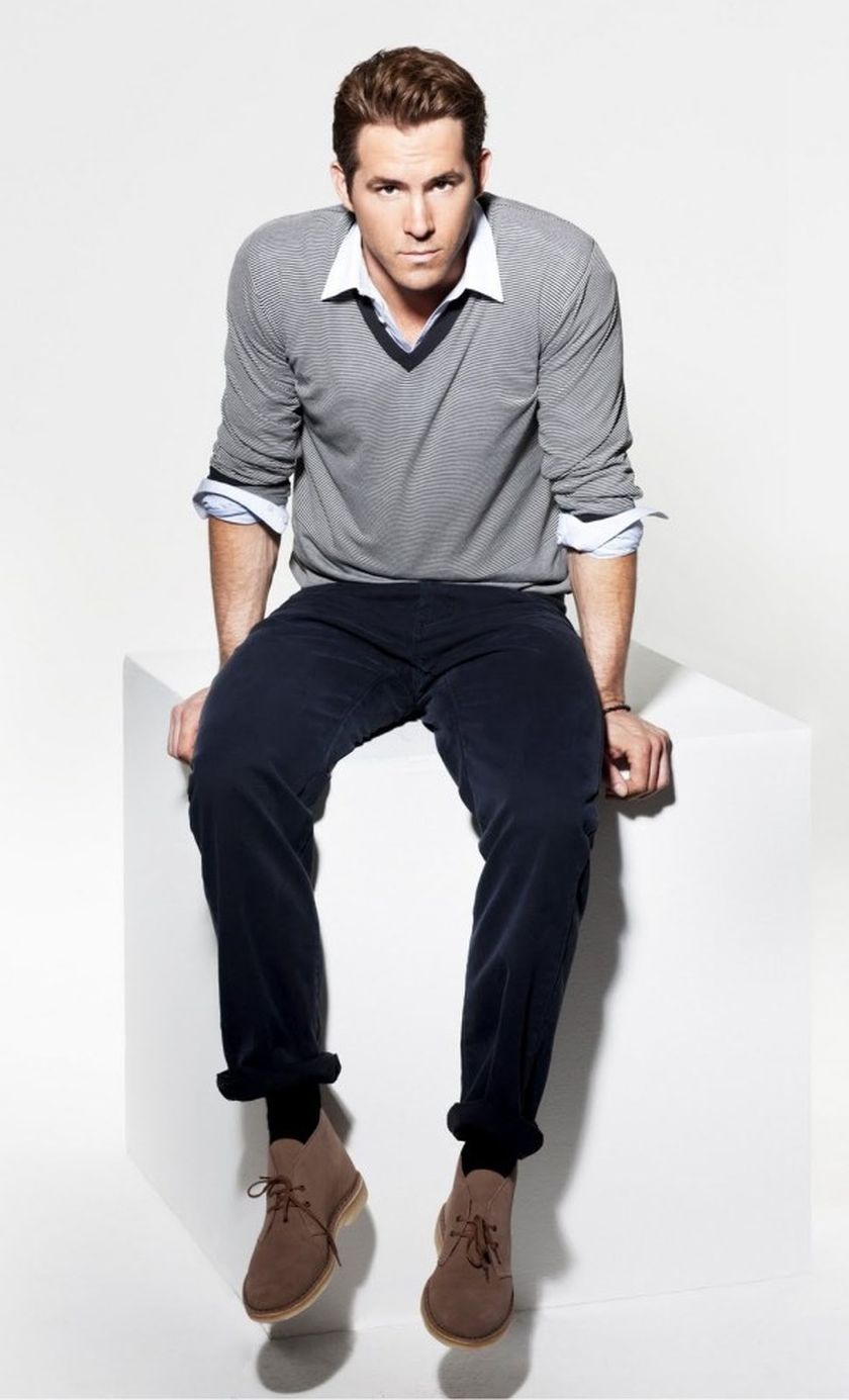 Ryan Reynolds Casual Outfit Style 62 Fashion Best