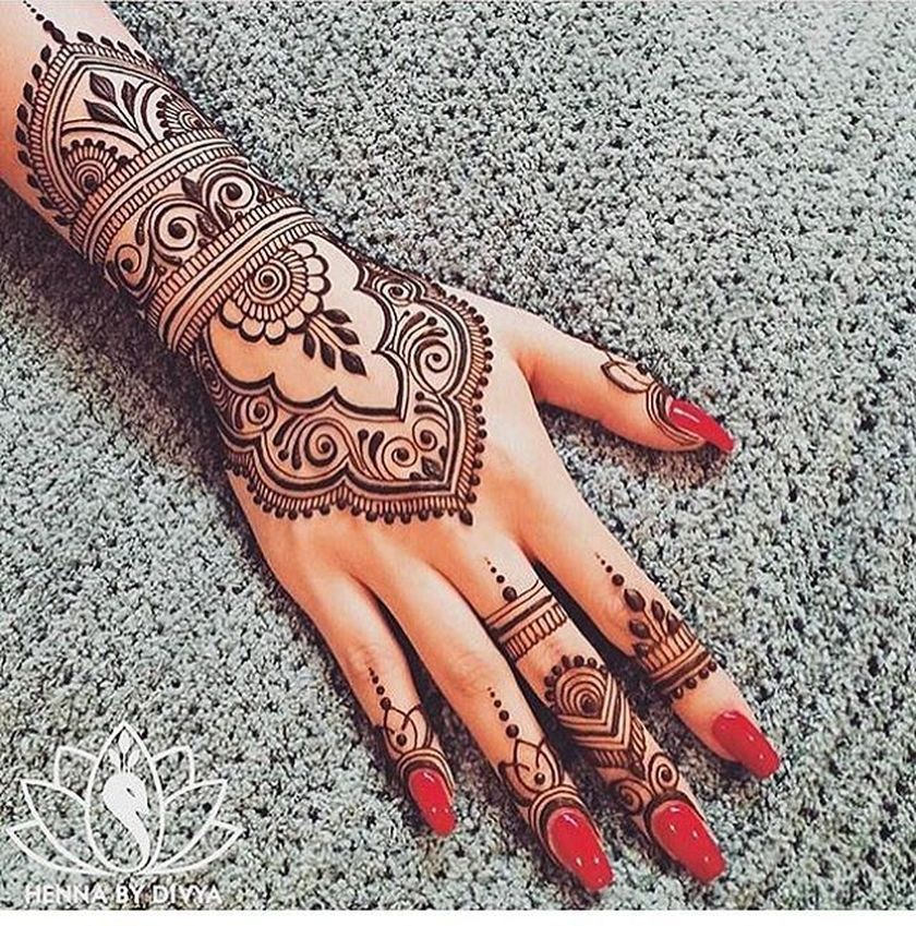 Stunning Image Of Mandala Henna Hand Art 60 Fashion Best