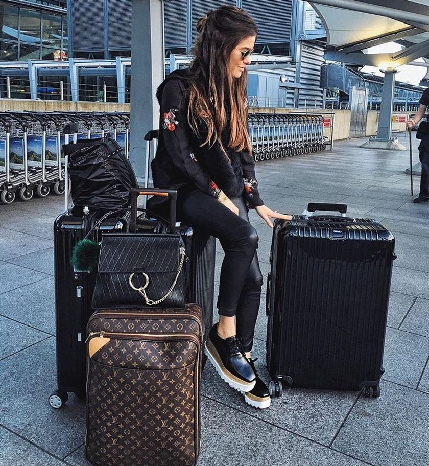 Summer airplane outfits travel style 20 - Fashion Best