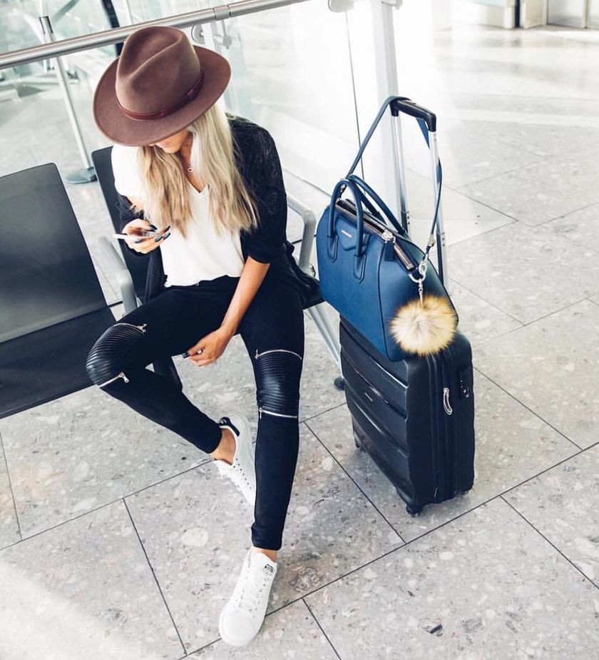 Summer Airplane Outfits Travel Style 30 Fashion Best
