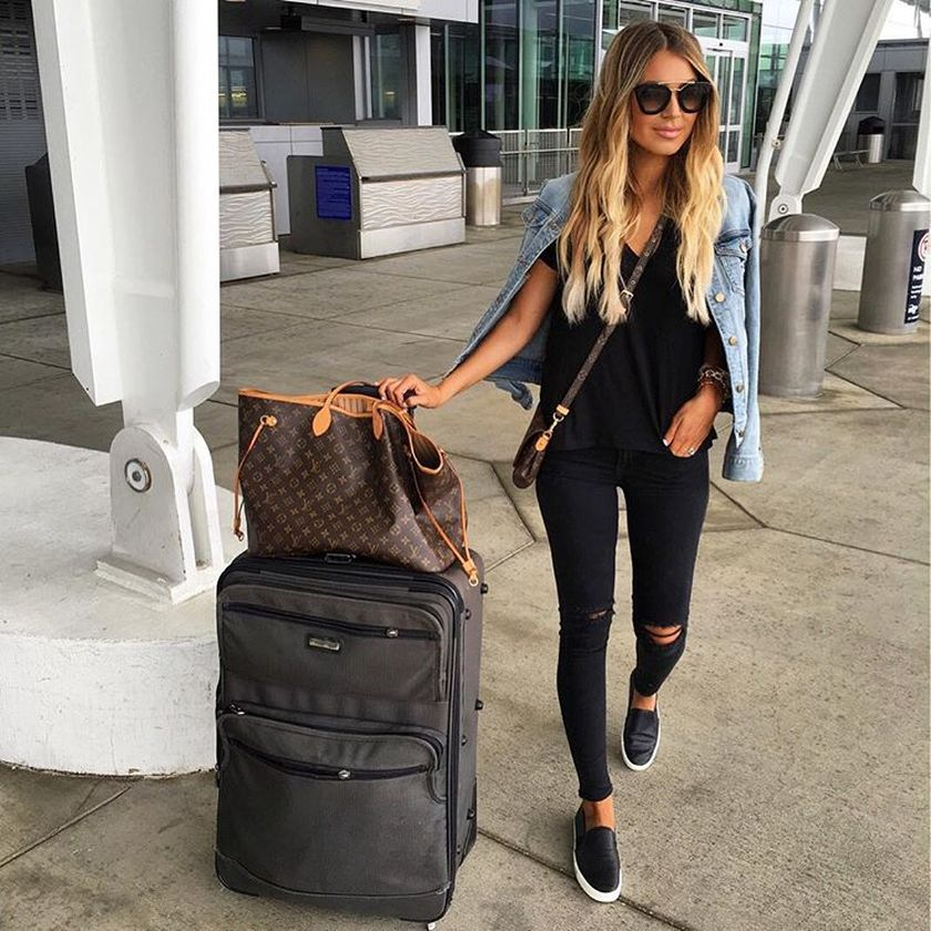 summer airplane outfits travel style 61  fashion best