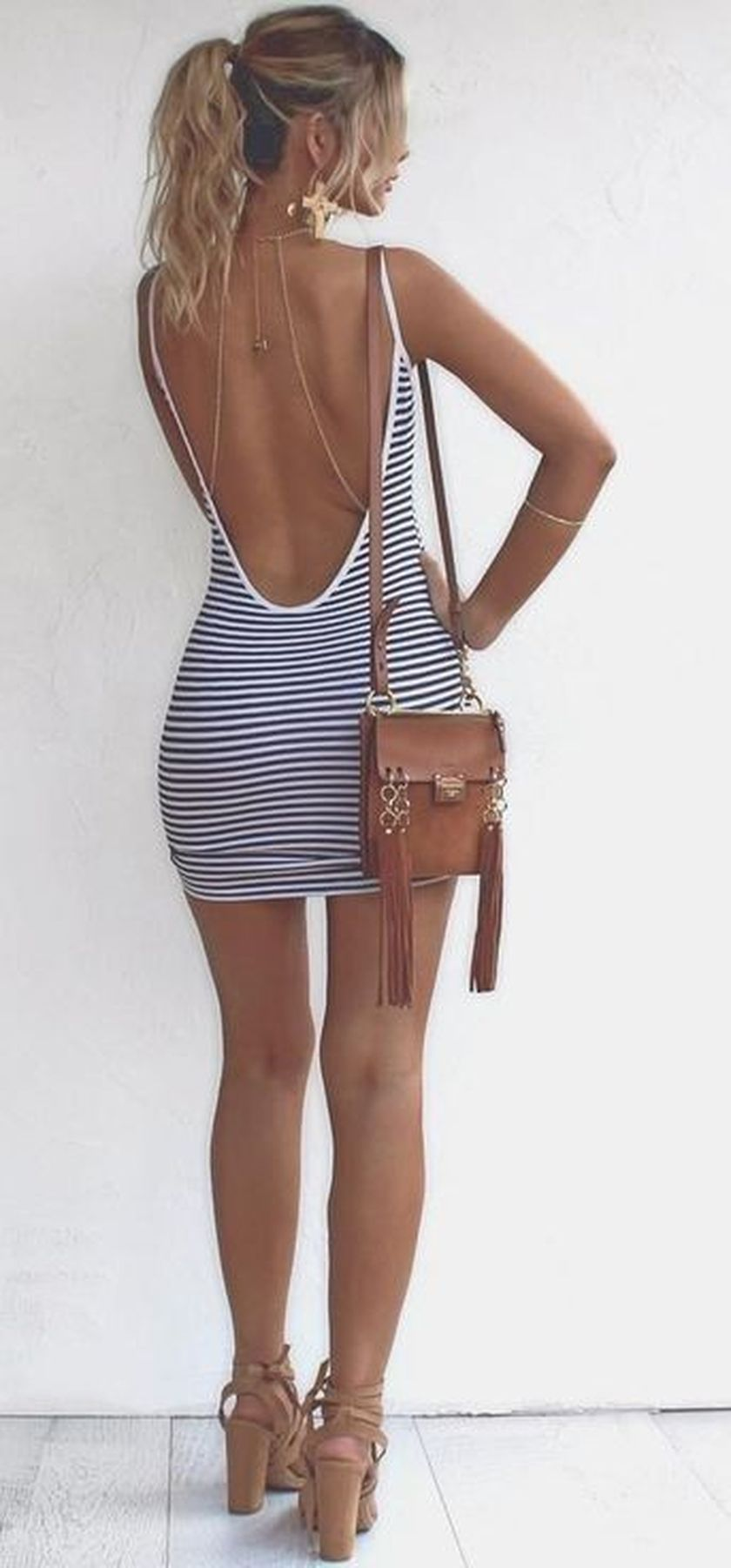 Summer Casual Backless Dresses Outfit Style 10 Fashion Best