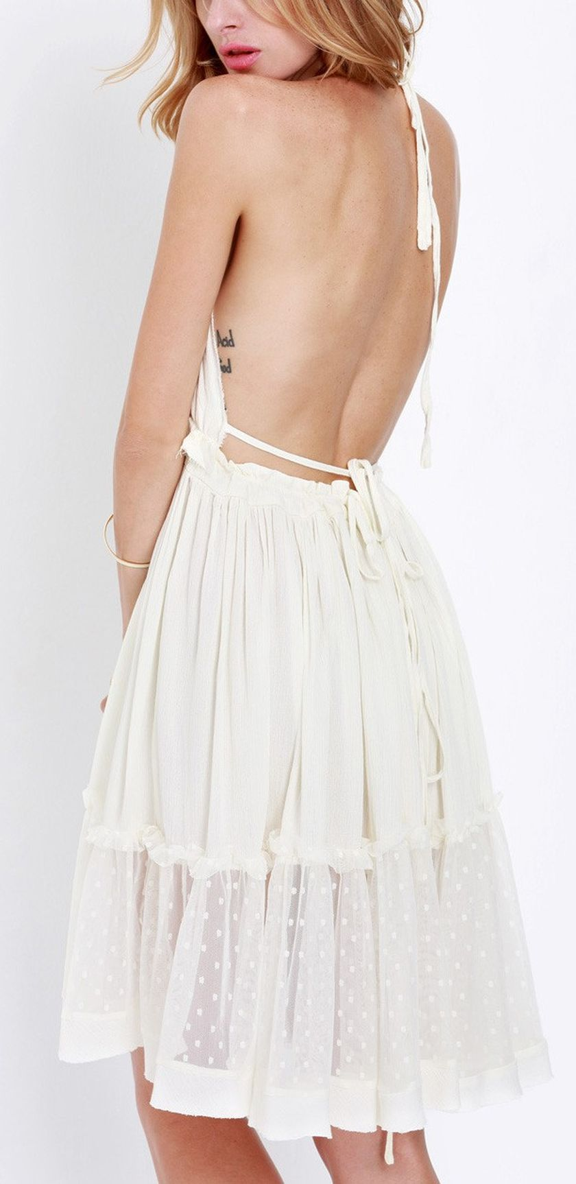 Summer Casual Backless Dresses Outfit Style 12 Fashion Best