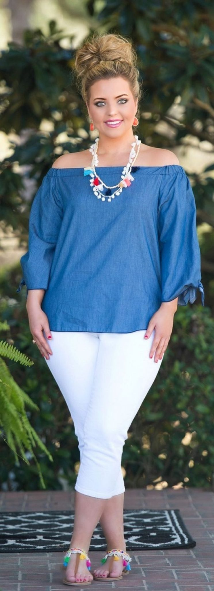 Summer casual work outfits ideas for plus size 48 ...