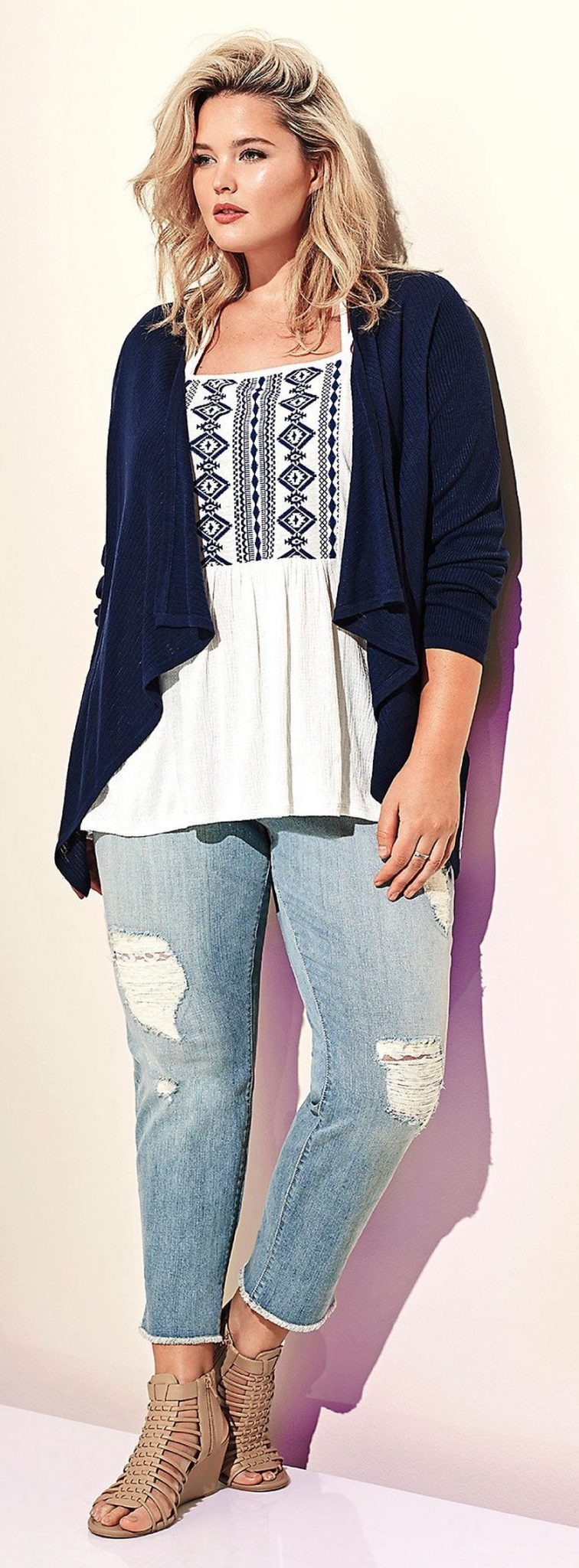 superb plus size casual summer outfits 2016
