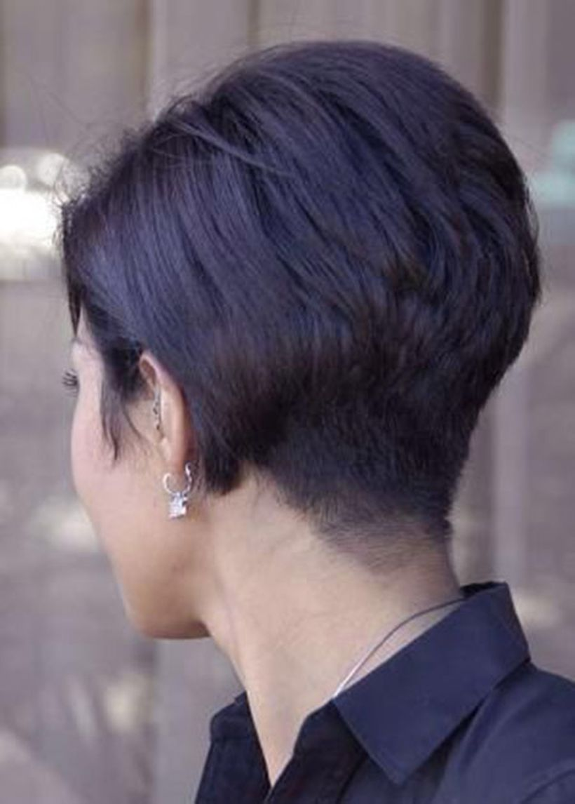 Undercut Back View Cool back view undercu...