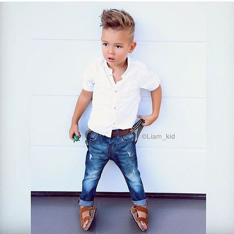 Cool kids & boys mohawk haircut hairstyle ideas 19 - Fashion Best
