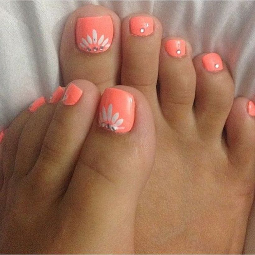 Cool Summer Pedicure Nail Art Ideas 50 Fashion Best