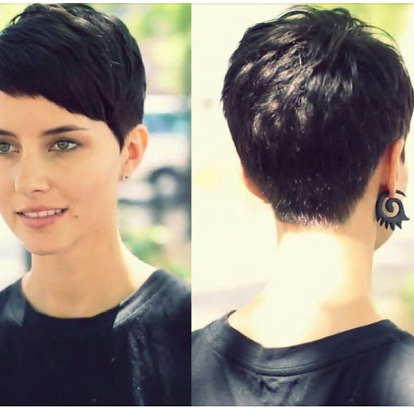 Stylist Back View Short Pixie Haircut Hairstyle Ideas 13 Fashion Best