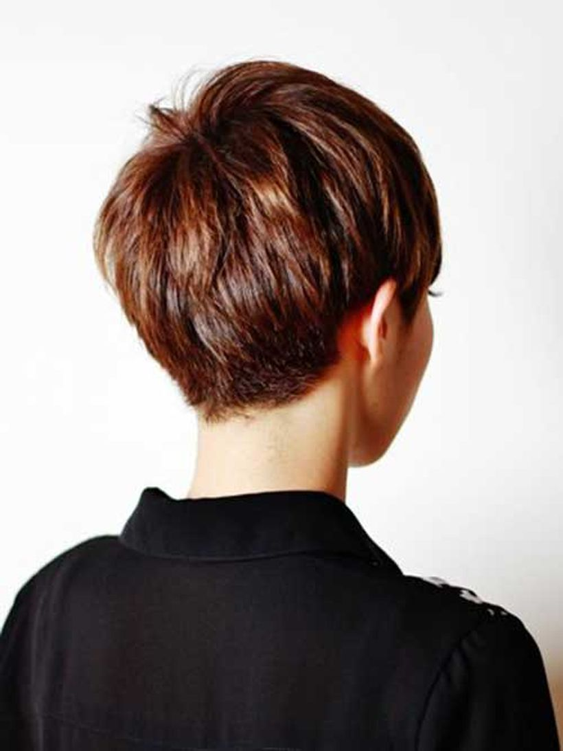 Stylist Back View Short Pixie Haircut Hairstyle Ideas 19 Fashion Best