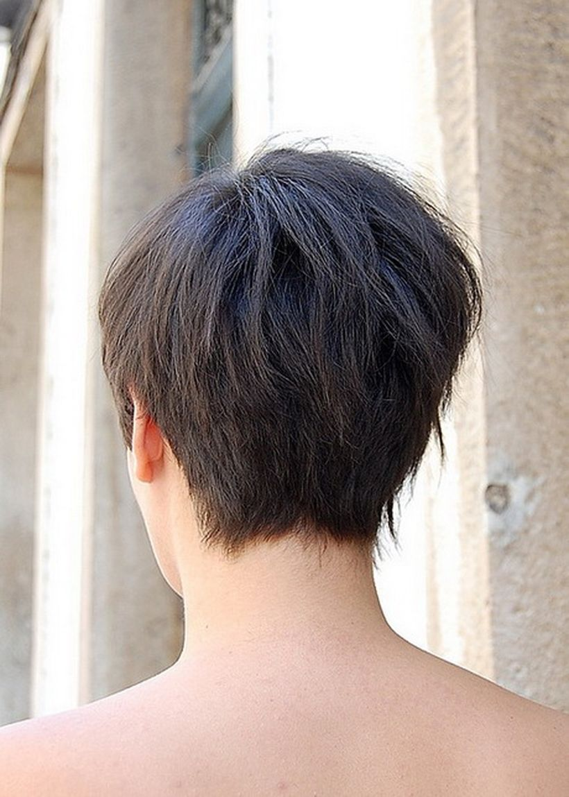 Stylist Back View Short Pixie Haircut Hairstyle Ideas 20 Fashion Best