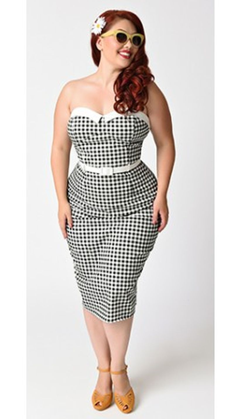 Rockabilly Dress Patterns Plus Size | Saddha