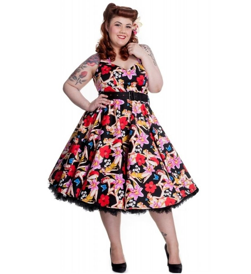 Vintage Plus Size Rockabilly Fashion Style Outfits Ideas