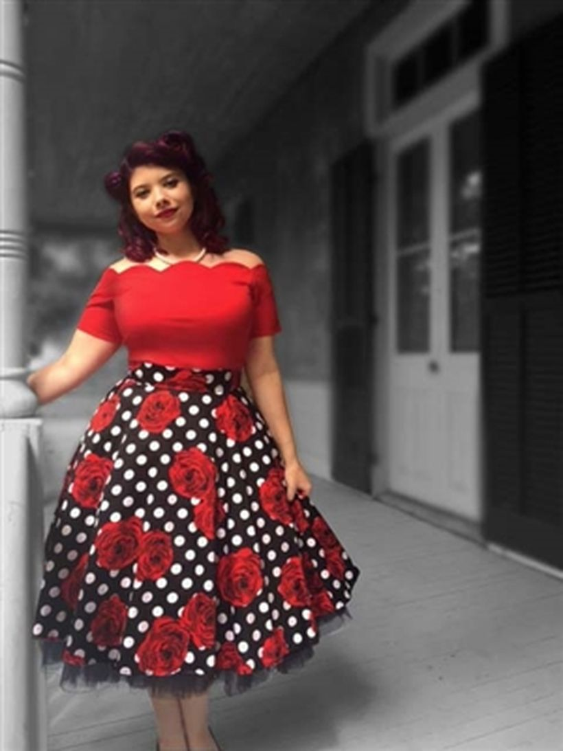 441450cf50b Vintage plus size rockabilly fashion style outfits ideas 28 ...