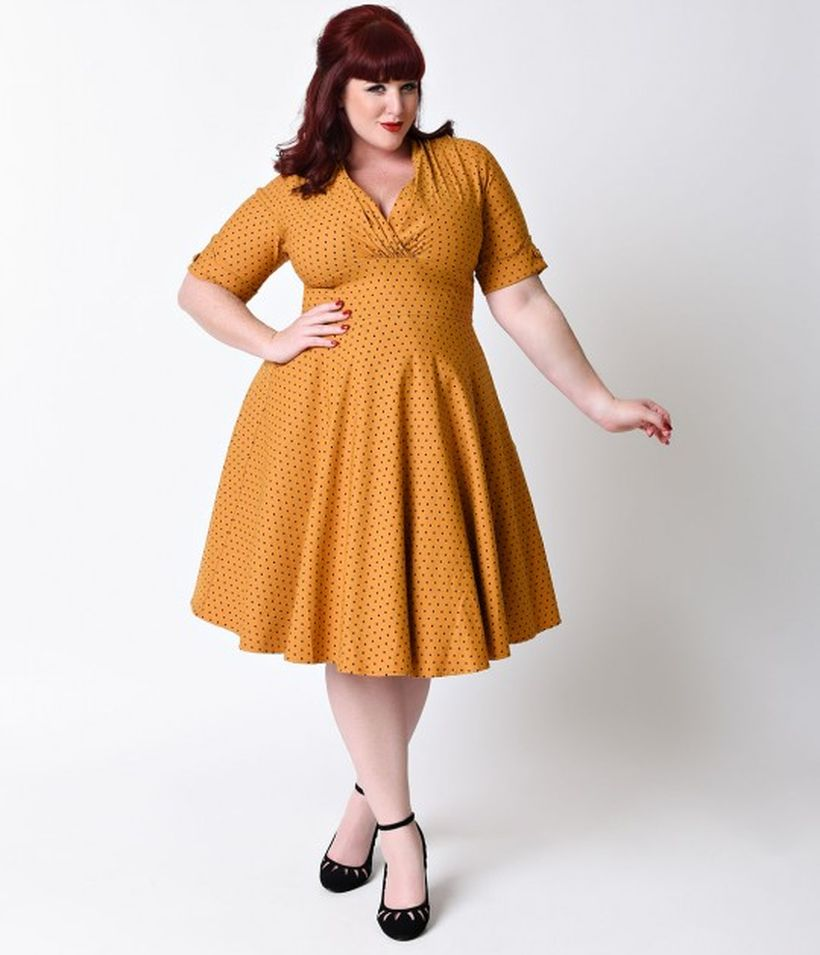 Vintage Plus Size Rockabilly Fashion Style Outfits Ideas 40 Fashion Best