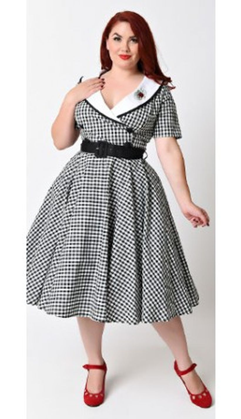 Vintage plus size rockabilly fashion style outfits ideas 72 ...