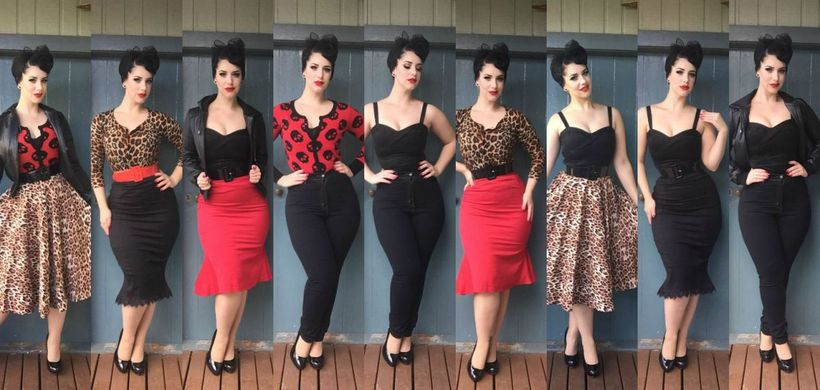 Vintage Rockabilly Fashion Style Outfits 43 Fashion Best