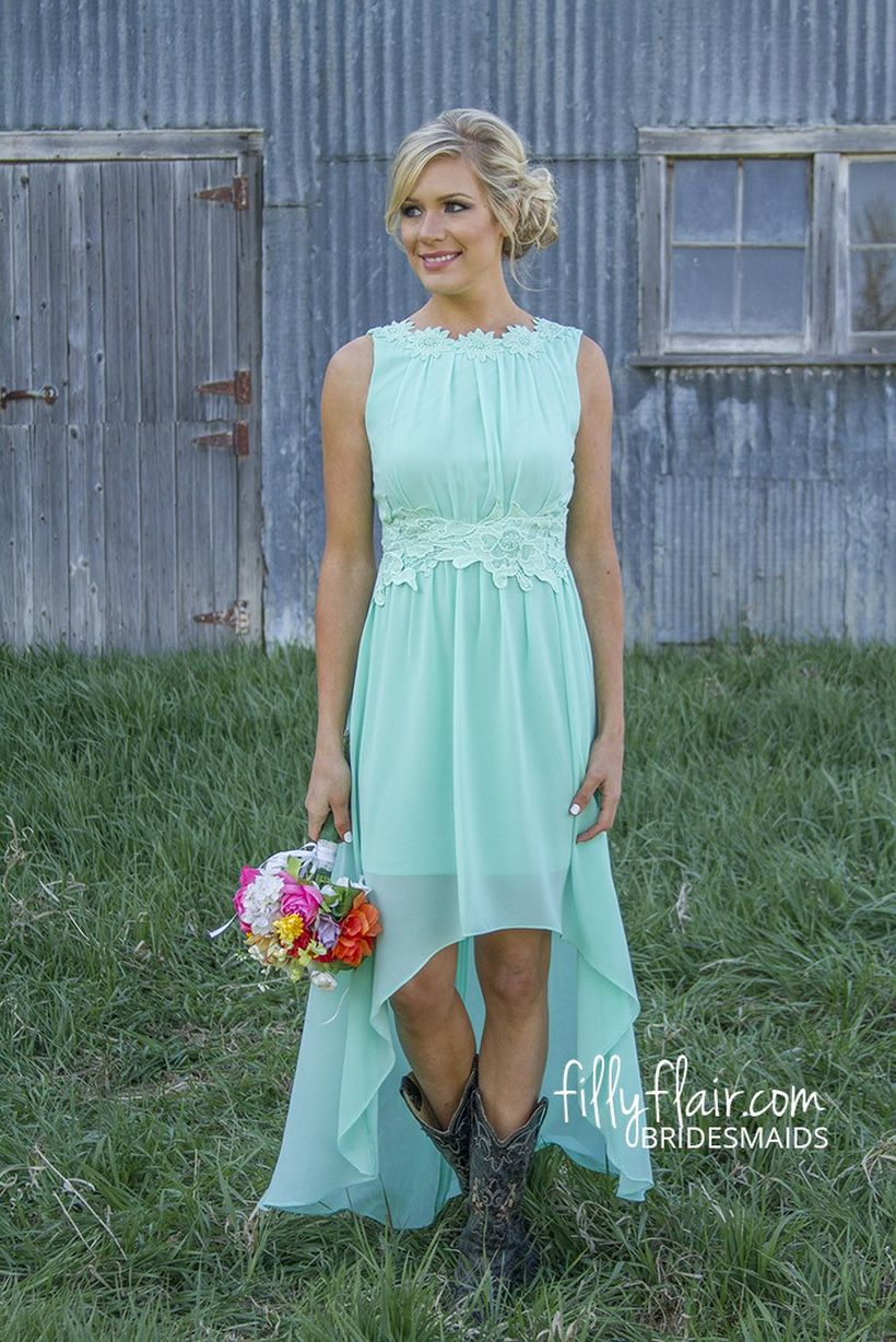 Vintage wedding outfit with country boots 6 - Fashion Best