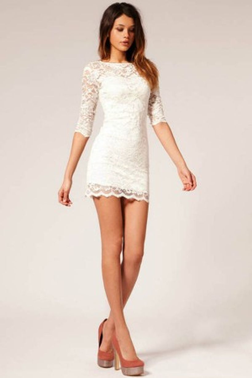 amazing white short dresses ideas for party outfits 21