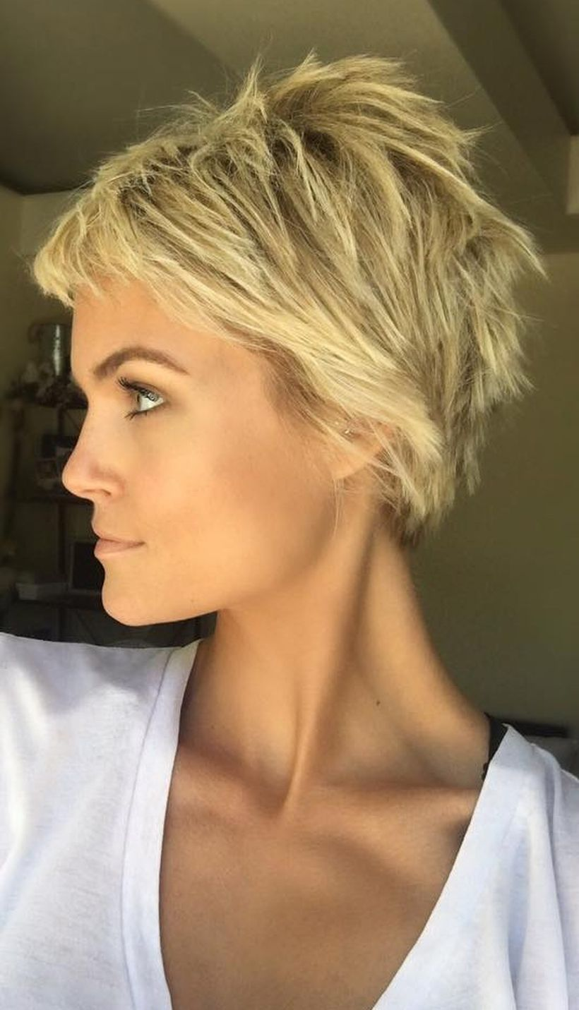 Cool Short Pixie Blonde Hairstyle Ideas 3 Fashion Best
