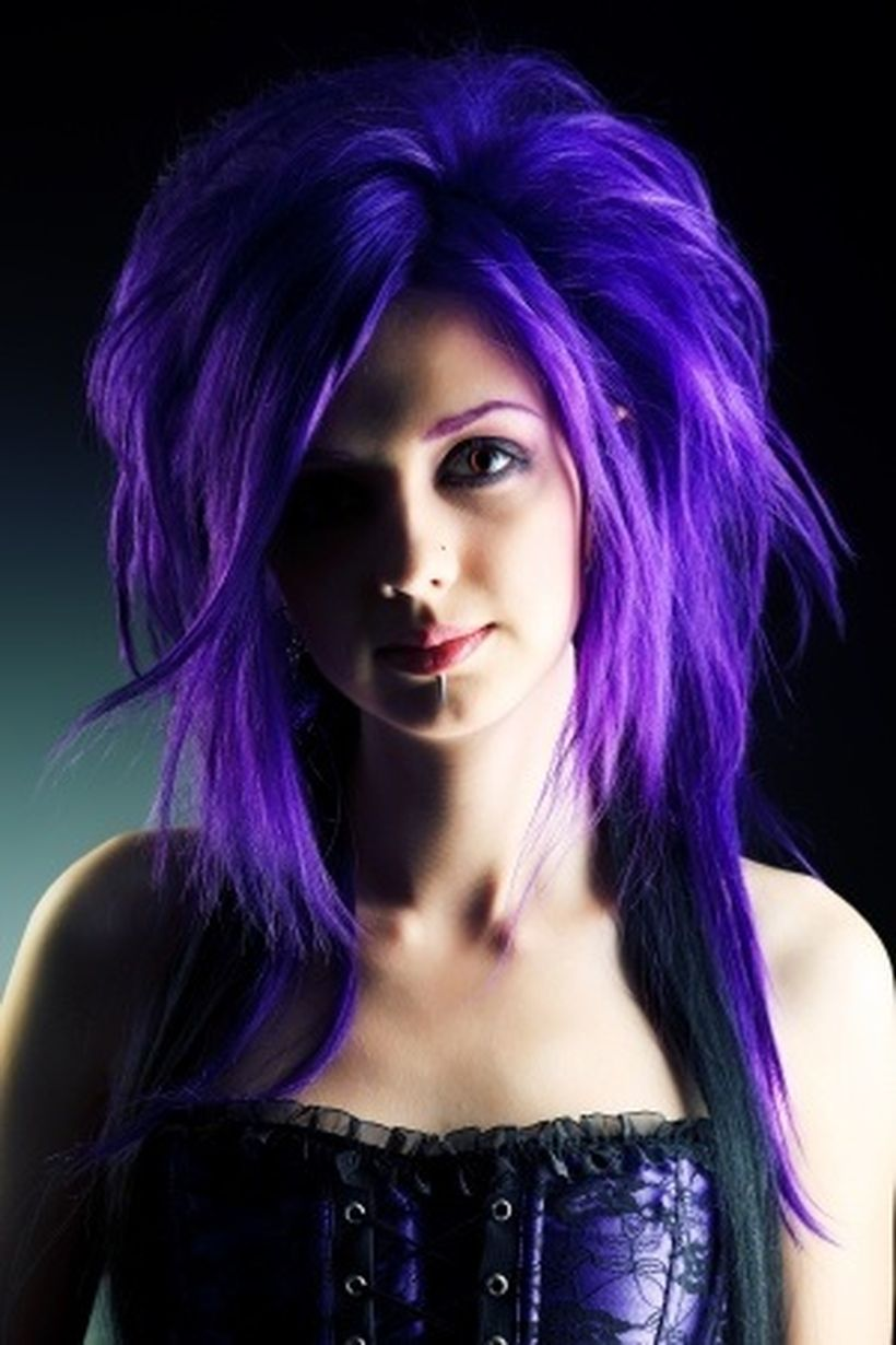 Good Colors To Dye Your Hair: Crazy Colorful Hair Colour Ideas For Long Hair 113