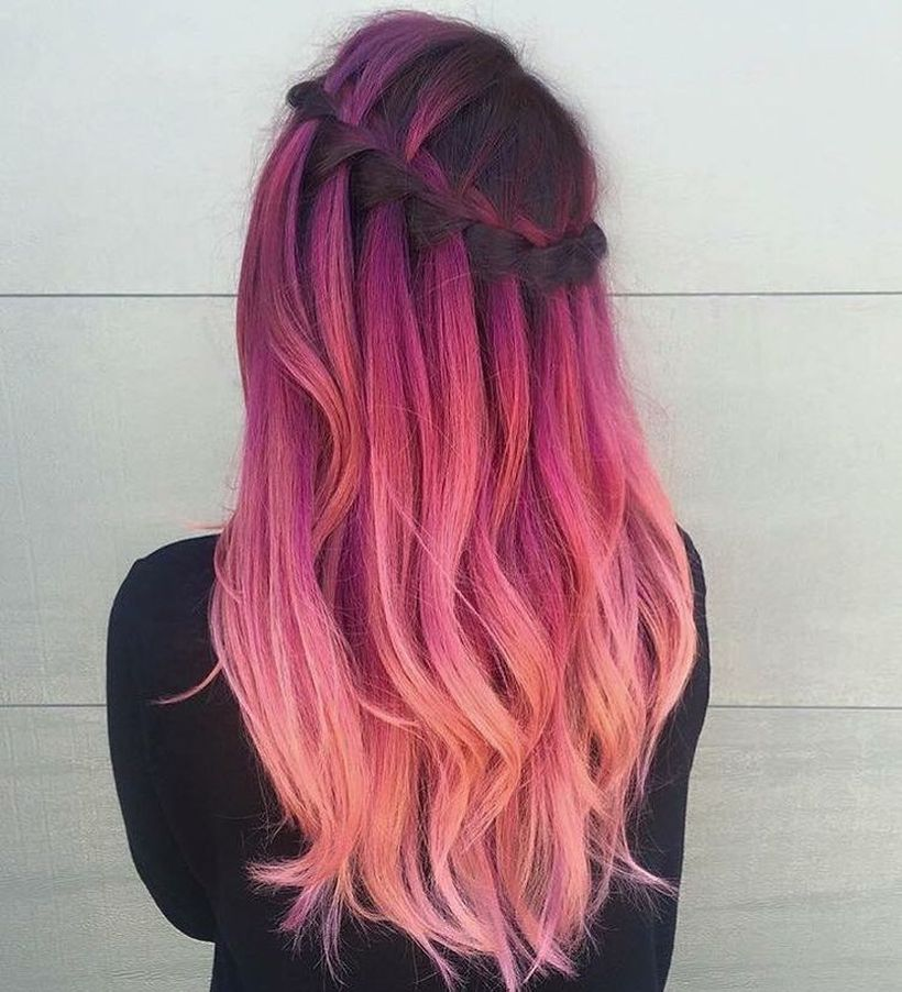 Crazy Colorful Hair Colour Ideas For Long Hair 14 Fashion Best