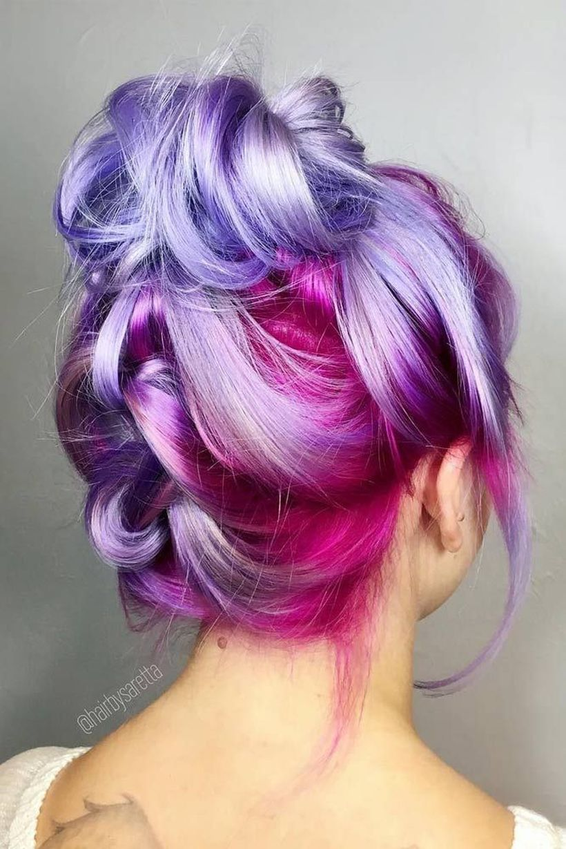 Crazy Colorful Hair Colour Ideas For Long Hair 144 Fashion Best