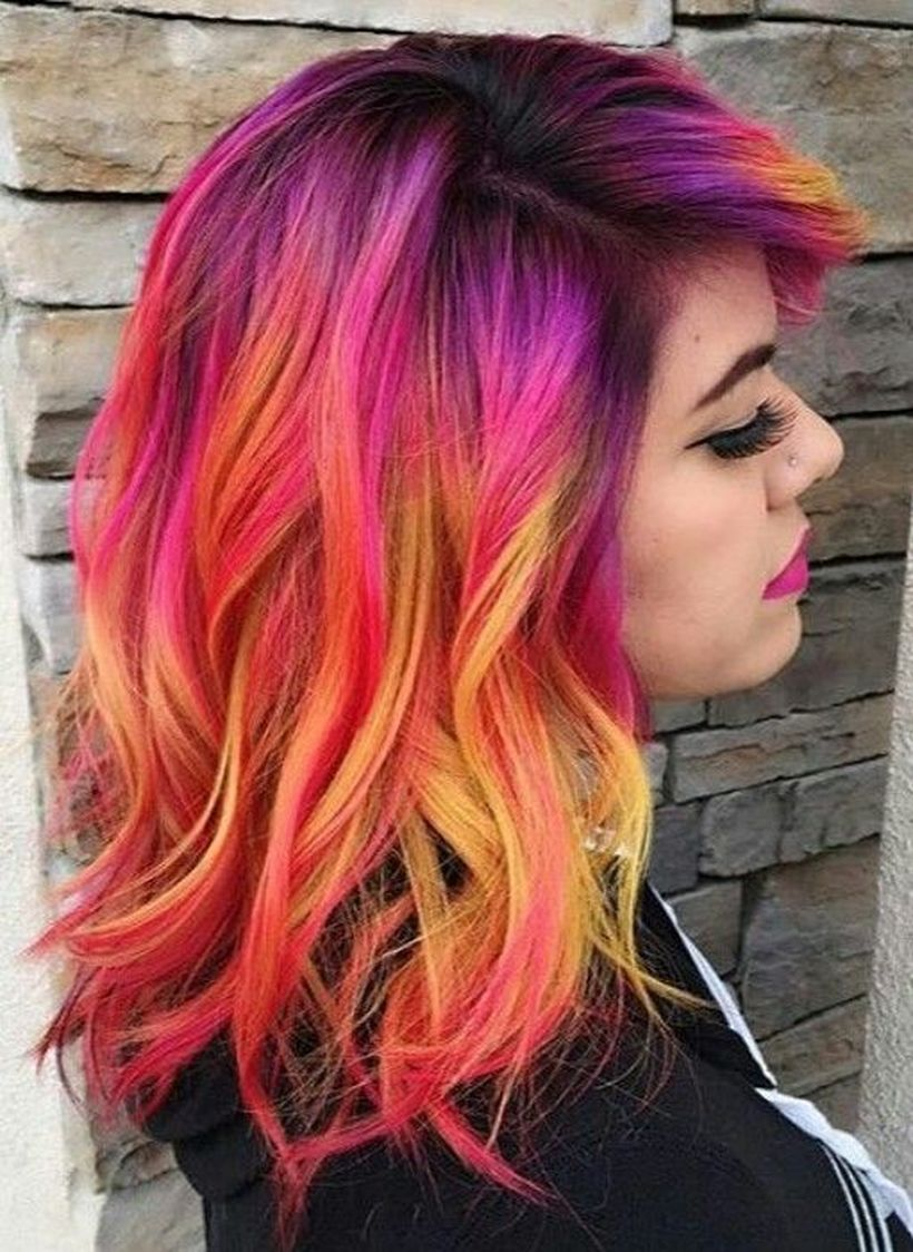 hair colour and styles for hair colorful hair colour ideas for hair 182 fashion 5489