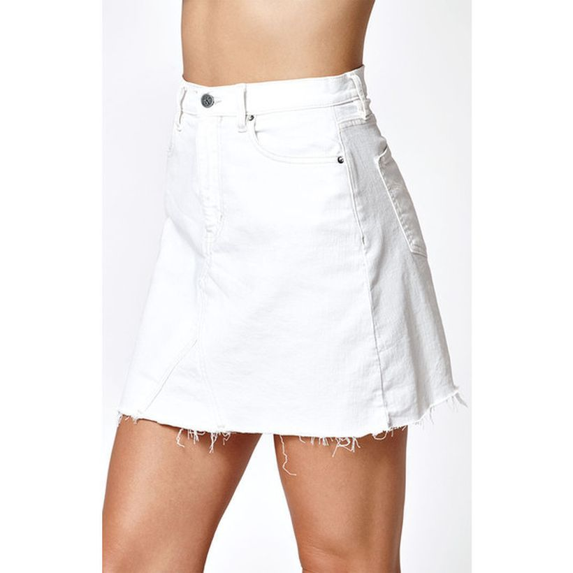 Fashionable White Denim Skirt Outfits Ideas 20 Fashion Best