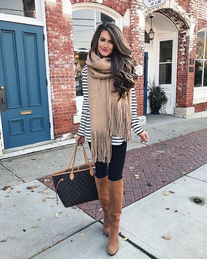 Trendy Over The Knee Boots For Winter And Fall Outfits 38