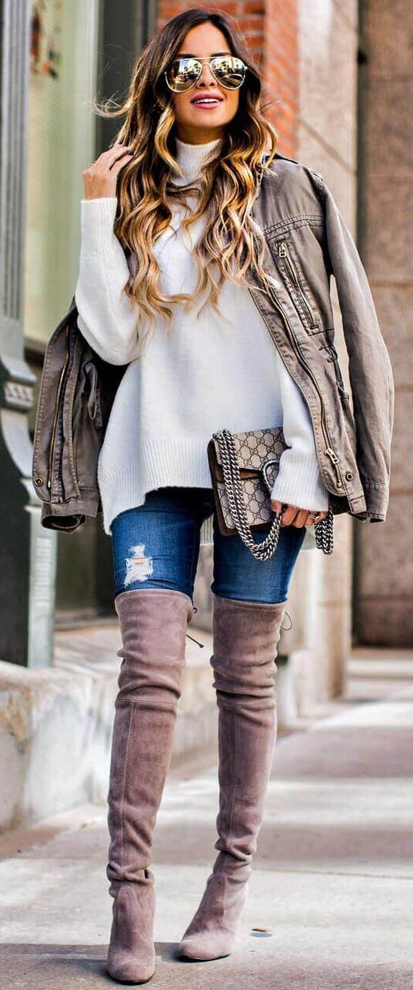 Trendy over the knee boots for winter and fall outfits 45 ...
