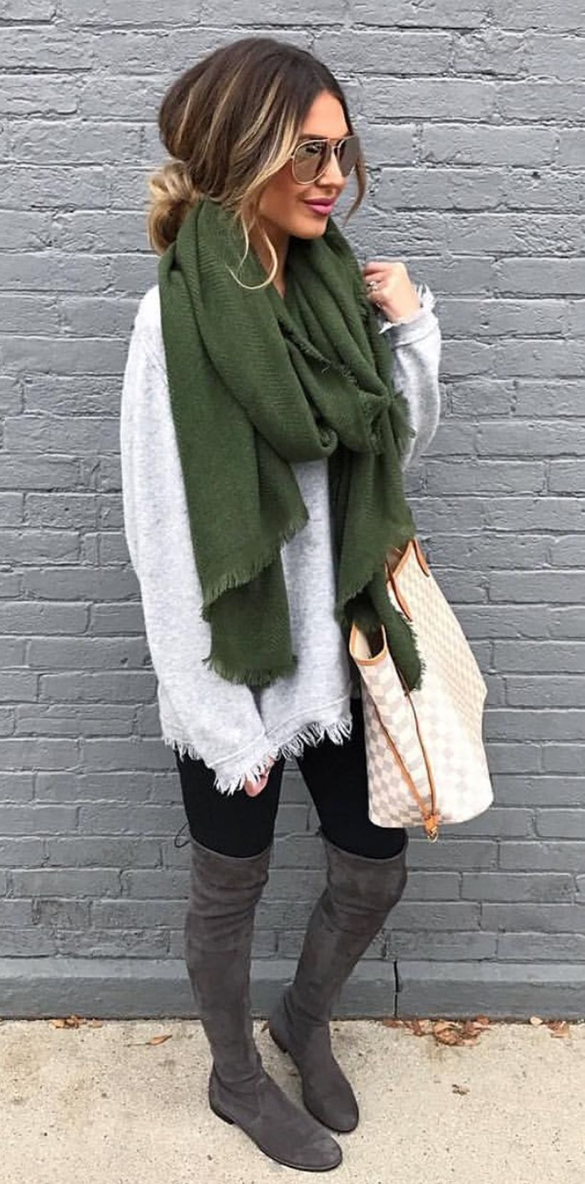 trendy over the knee boots for winter and fall outfits 52