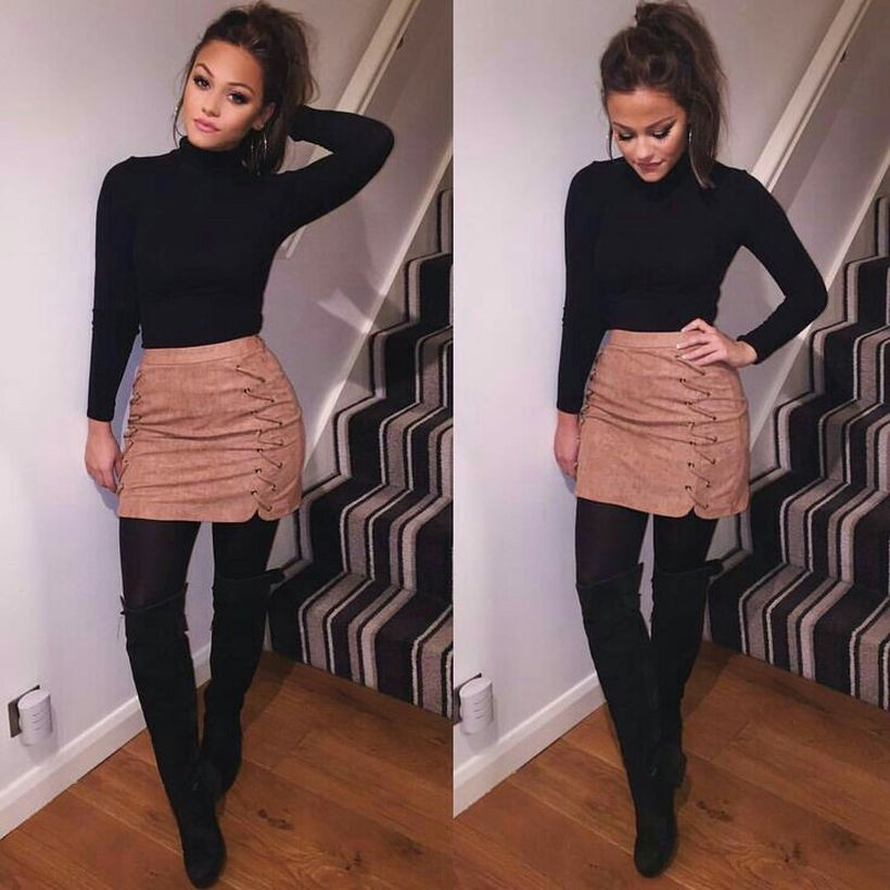 Best Casual Fall Night Outfits Ideas For Going Out 24