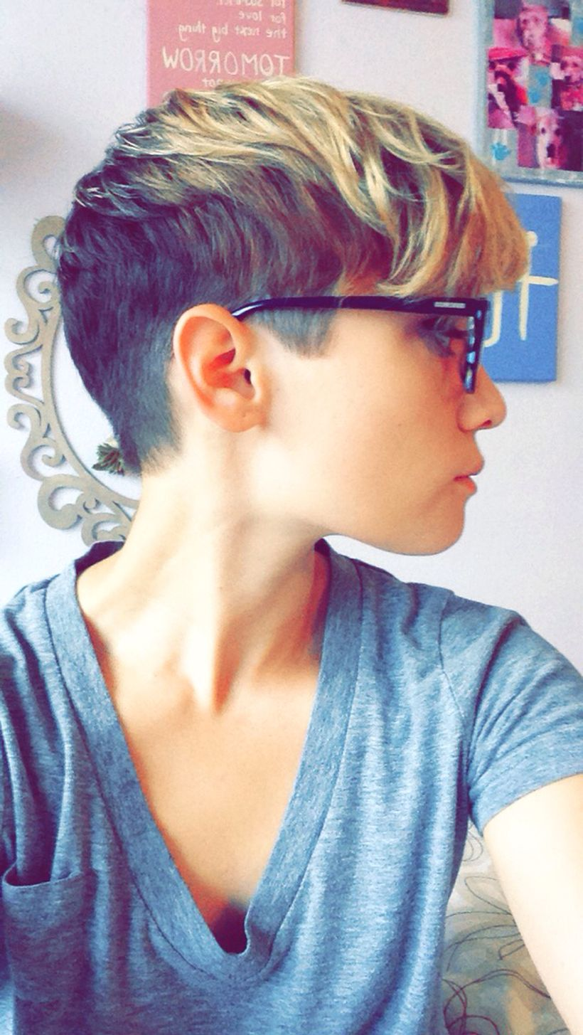 Cool short pixie ombre hairstyle ideas 31 - Fashion Best