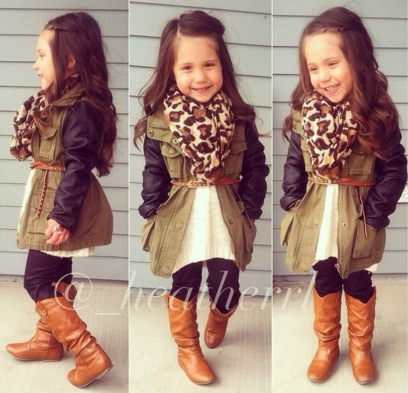 b0f34f404368 Cute fall outfits ideas for toddler girls 11 - Fashion Best