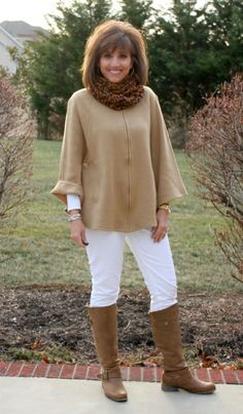 Fashionable over 50 fall outfits ideas 122